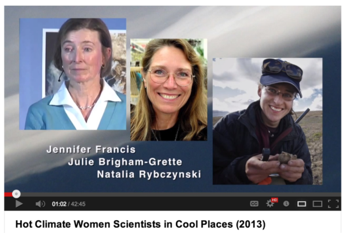 "Hot Climate Women Scientists in Cool Places"" 2013"