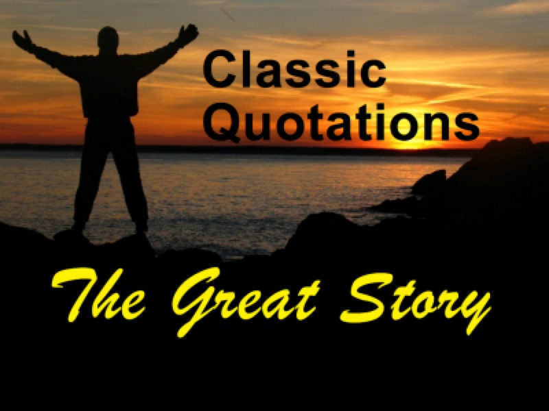 classic quotations of the great story